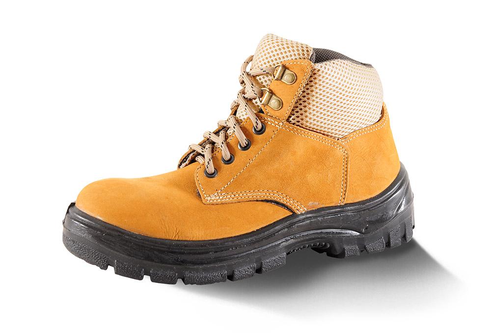 Calçados Mariano - Botina solado PU, couro Nobuck e cadarço b26513886f